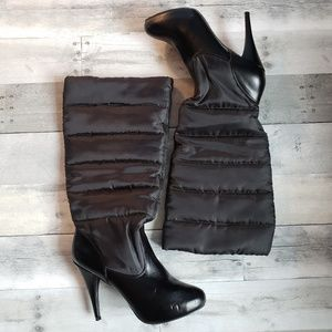 Steve Madden Quilted Heeled Boots